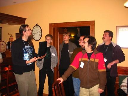Dyskutujący wikipedyści