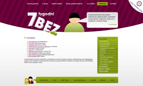 Screen z 7bez.pl z moim cytatem