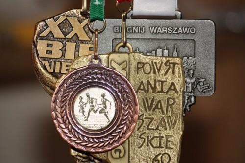 Medale z biegów w 2011