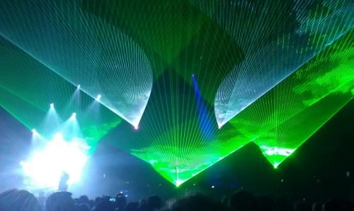 Lasery na Australian Pink Floyd